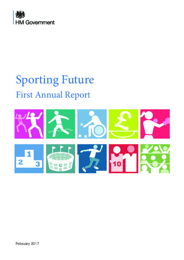 Sporting Future: First Annual Report