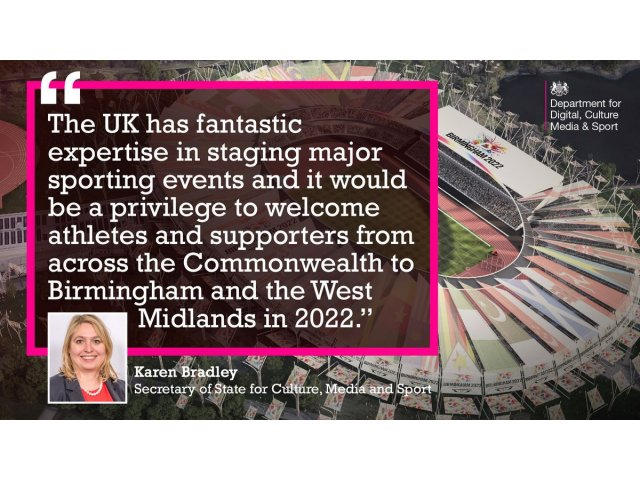 What a Birmingham Commonwealth Games Would mean to the City and Sport