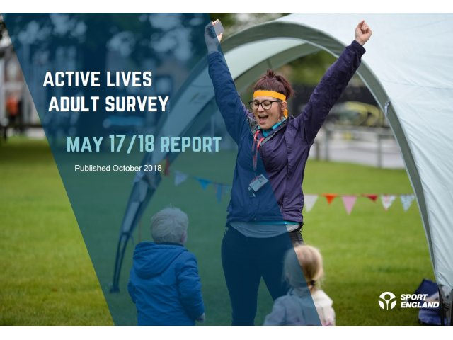 Almost 300,000 more people are active according to Active Lives
