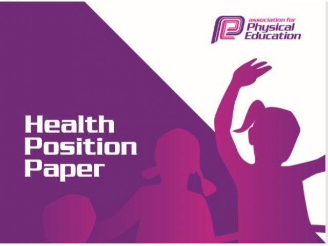 afPE Launch New Health Position Paper by Dr Jo Harris