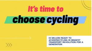 It's Time to Choose Cycling