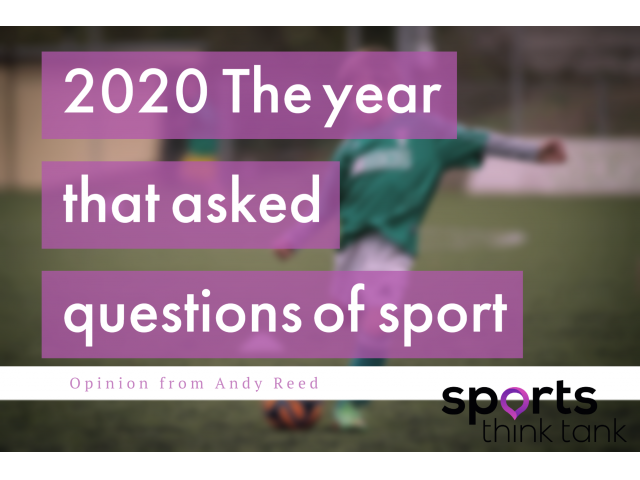 2020 The Year that Paused Sport & Highlighted why it needed a Reset