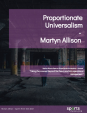 Proportionate Universalism Martyn Allison March 2021 5188 FINAL